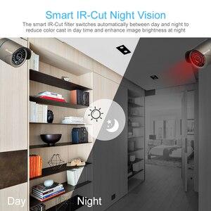 """Image 3 - Techage 8CH 1080 720p ワイヤレスセキュリティカメラシステム 12 """"液晶モニター Wifi NVR 屋外オーディオ CCTV カメラ P2P ビデオ監視セット"""