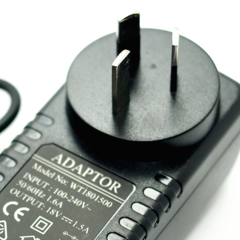 18V 1.5A Power Adapter Negative Center 100-240V Converter AU Plug I Type Noiseless 1500mA Power Supply For Guitar Effect Pedal autoeye cctv camera power adapter dc12v 1a 2a 3a 5a ahd camera power supply eu us uk au plug