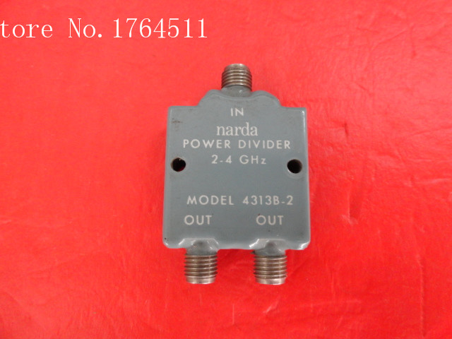 [BELLA] Narda 4313B-2 2-4GHz Two SMA Power Divider