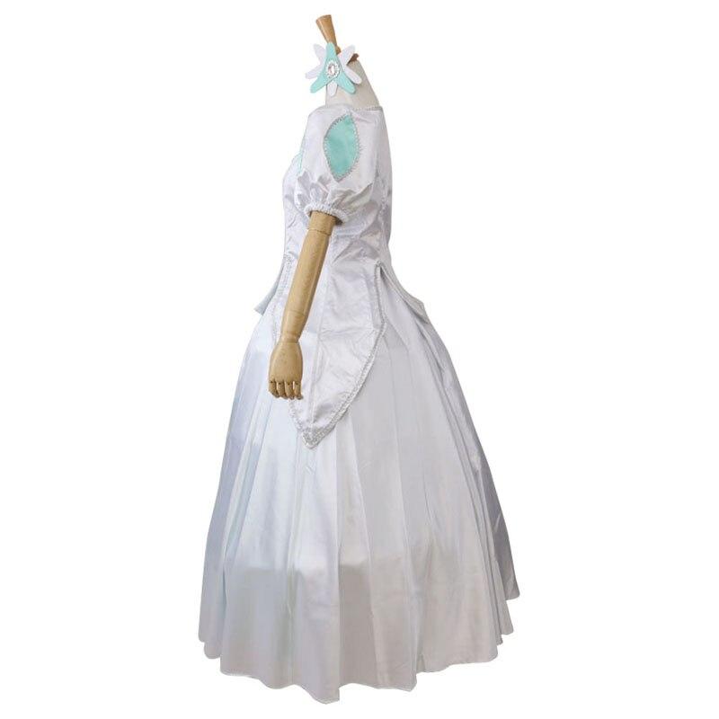 Por encargo La pequeña sirena princesa Ariel blanco y verde bien ...