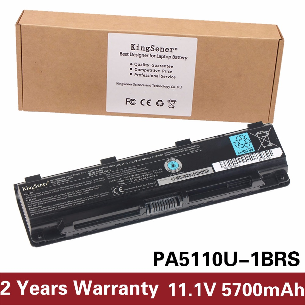 KingSener Japanese Cell PA5110U-1BRS Battery for Toshiba Satellite C50 C50D C50t C55 C55D C55Dt PA5110U PA5109U-1BRS PABAS273 laptop battery for toshiba satellite c50t c55 c70 c75d pa5108u 1brs pa5109u 1brs pa5110u 1brs pabas271 pabas272