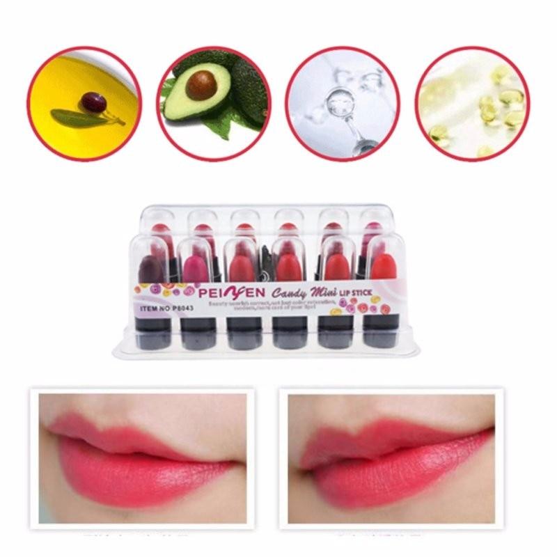 12Pcs Women Liquid Lipstick Batom Lip Kit Set Rouge A Levre Matte Makeup Lip Balm Mini Lip Gloss Long Lasting Waterproof Bright 5