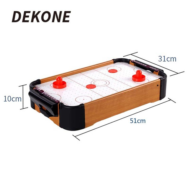 Superbe Air Hockey Table MDF Plastic Portable For Family Entertainment Birthday  Party Christmas Gifts Portable Hockey Toy