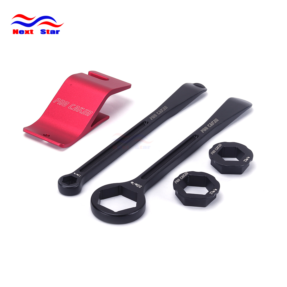 Motorcycle Tyre Iron Set Changing Tool Assisistance tool Kit Levers Hex Wrench Spanner 10 13 22 27 32 For HONDA Dirt Pit Bike