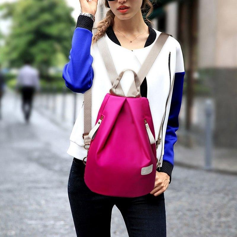 Fggs Hot 3 Sets Women Shoulder Oxford Women Rucksack Bag Women Portable Purse shoulder Bag Messenger Bag