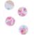 2015 babador manga curta bebê verão 0 - 12 mês flor primeiro aniversário roupas cabeça e bolo saia Pant 3 pcs um conjunto