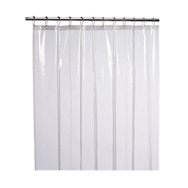 New Anti Bacterial Shower Curtain Clear Liner Eco Friendly Decoration Drop Shipping