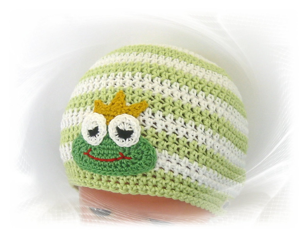 Baby colorful frog style hat ZF004