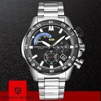 2019 PAGANI дизайнерские брендовые Роскошные Кварцевые часы мужские модные водонепроницаемые спортивные Хронограф военные наручные часы Relogio