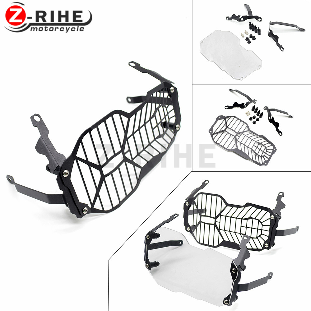 1pcs Headlight Grill Guard Cover Protector For BMW R1200GS ADV Adventure R 1200 GS 2013 2014 2015 2016 R1200GS ADV Adventure R 1 hot motorcycle headlight head light grill guard cover protector for bmw r1200gs adventure 2013 2014 2015 2016 r 1200gs 1200 gs