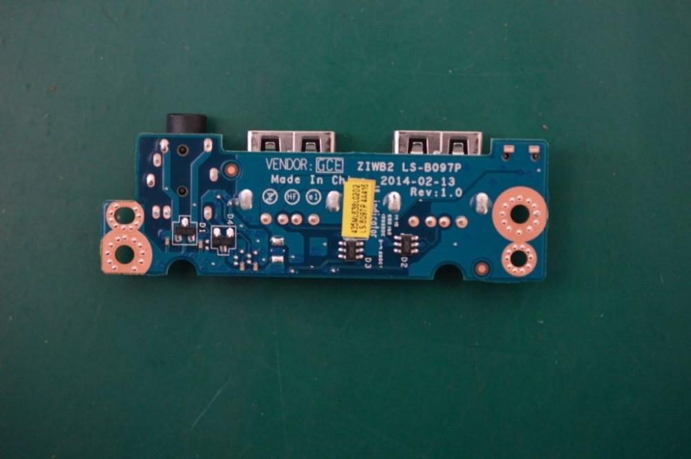 Computer & Office Original For Lenovo E40-30 E40-70 Usb Board Audio Board Ls-b097p At All Costs