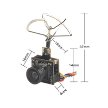 цена на 5.8G Photography Camera Output Power 25MW 100MW Switchable Camera AIO FPV VTX HC48DS Camera for Indoor FPV Accessories