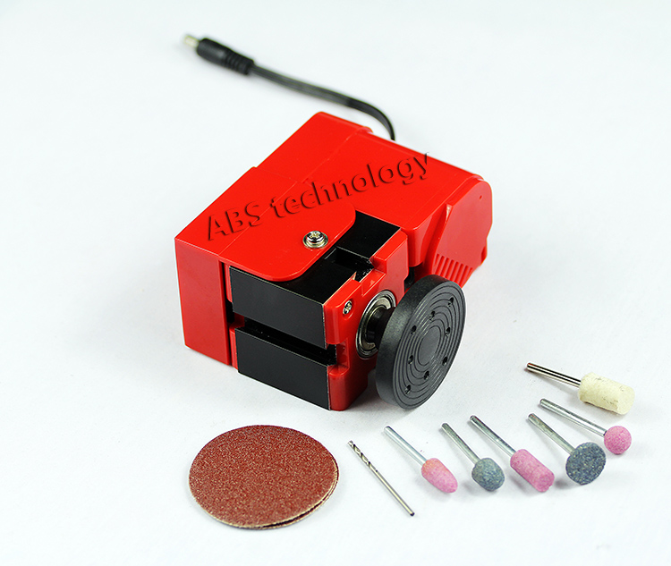 24W Basic Mini Hand-held Sanding Grinding Machine with 20,000r/min, 24W Motor ,DIY Tools Gift as Children vibration type pneumatic sanding machine rectangle grinding machine sand vibration machine polishing machine 70x100mm