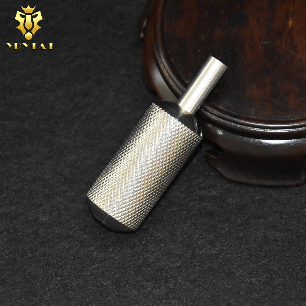 Top Quality 22MM Small Size Stainless Steel 316L Tattoo Grip With Back Stem Supply SSG22-03#