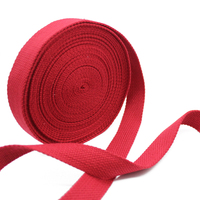 12 Yards Cotton Woven Tape Webbing Strap Wedding Ribbon Roll Handbag For Candy Gifts Decor Home
