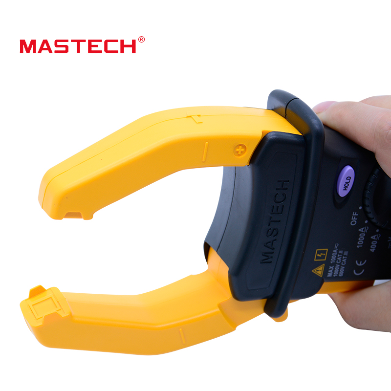 MASTECH MS2101  Digital Clamp Meter AC/DC 1000A DMM Hz/C Multimeter measured capacitance frequency temperature 1 pcs mastech ms8269 digital auto ranging multimeter dmm test capacitance frequency worldwide store