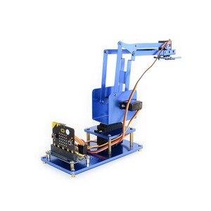 Image 3 - Kit bras Robot métal 4 dof Waveshare pour micro: bit, Bluetooth