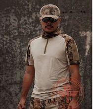 tactical military t-shirt men Chiefs new tactical Rattlesnake wicking T shirt python T-shirt short-sleeved T-shirt men
