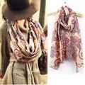 New Arrival Vintage Lady Soft Long Neck Large Scarf Wrap Shawl Pashmina Stole Scarves