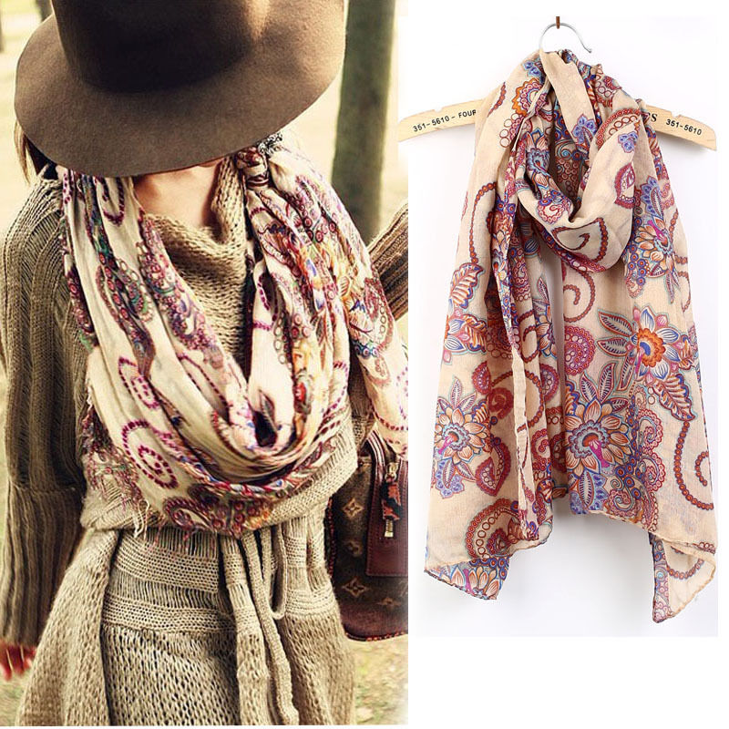 New Arrival Vintage Lady Soft Long Neck Large   Scarf     Wrap   Shawl Pashmina Stole   Scarves