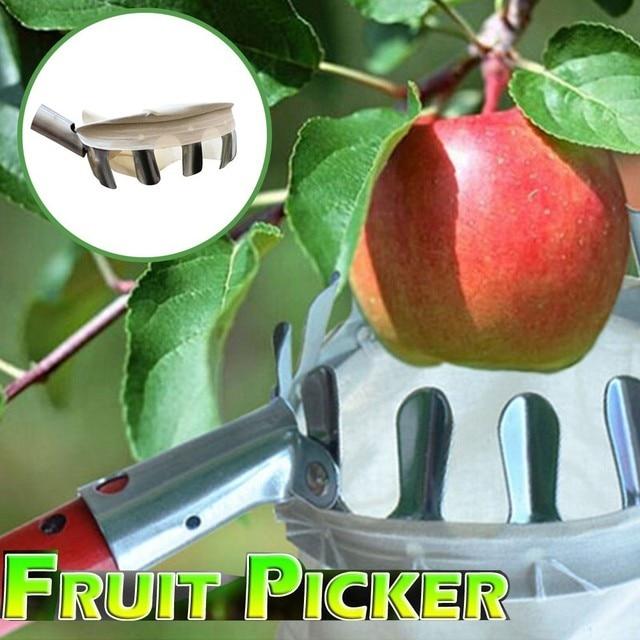 Outdoor Useful Fruit Picker Apple Orange Peach Pear Practical Garden Picking Tool Bag Picking device Sammelnvorrichtung