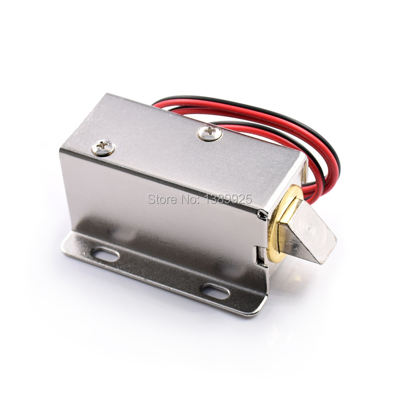 New Cabinet Door Electric Lock Assembly Solenoid DC 12V For Drawer Sauna Lock