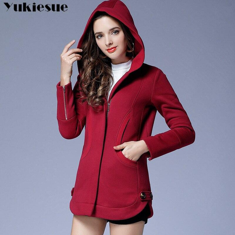 Automne décontracté longue veste à capuche à fermeture éclaire Hoodies sweat Vintage grande taille 5 XLred noir Outwear manteau à capuche vêtements