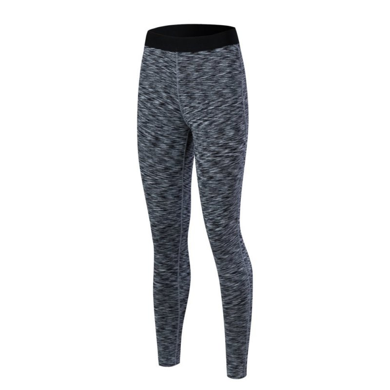 Women Stretchy Elastic Slim Yoga Long Pants Tight Compression Sport Trouser Base Layer Bottom