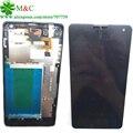 Оригинал E975 Сенсорный ЖК-Панель С Рамкой Для LG Optimus G LS970 F180 E973 E975 ЖК-Дисплей С Сенсорным Экраном Дигитайзер Ассамблеи Рамка