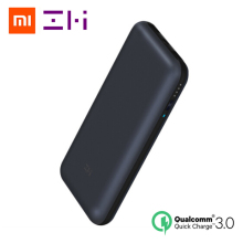 Original Xiaomi ZMI 20000 mAh USB-C Energienbank USB PD 2,0 power Quick Charge 3,0 mit Typ C Ladegerät für Macbook Mi Laptop