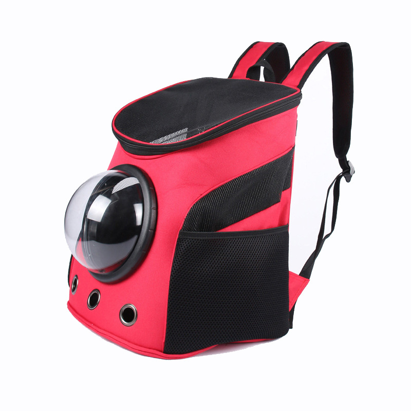 NEW Carrier Dog Cat Space Capsule Shaped Pet Travel Carrying Breathable Shoulder Backpack Outside Travel Portable Bag Pet Produc