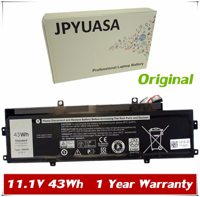 US $53 19 5% OFF|JPYUASA 11 1V 3280mAh 36 4Wh Original 5R9DD XKPD0 Laptop  Battery For DELL Chromebook 11 3120 P22T built in Tablet-in Laptop  Batteries