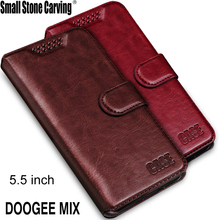 For DOOGEE MIX Case Leather Luxury PU Flip Case Mobile Phone Back Housing Cover For doogee mix 5.5 Case Cover with card slots