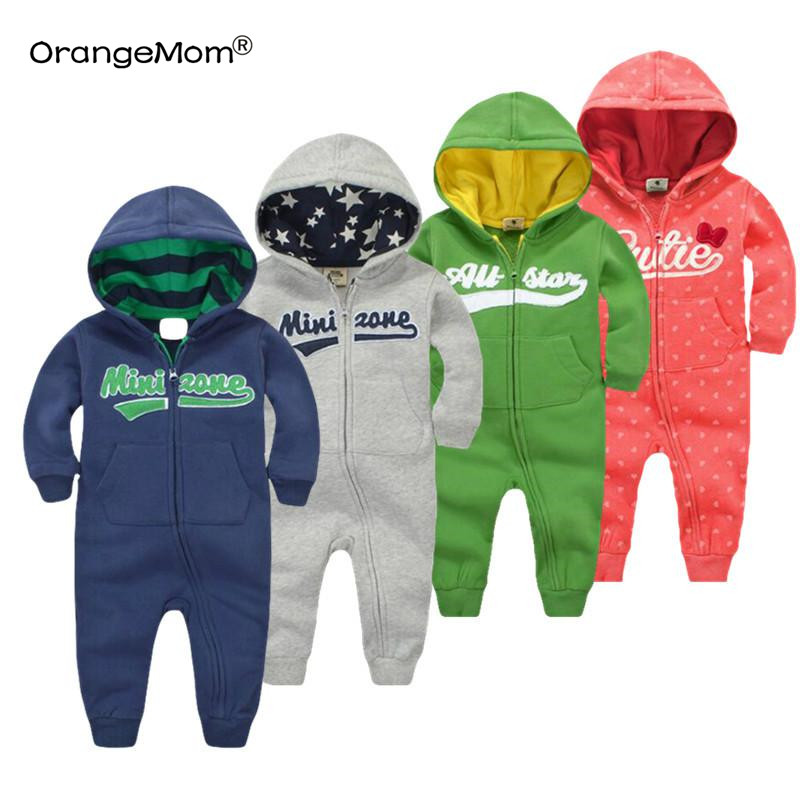 2018 spring Baby rompers Newborn Cotton tracksuit Clothing Baby Long Sleeve hoodies Infant Boys Girls jumpsuit