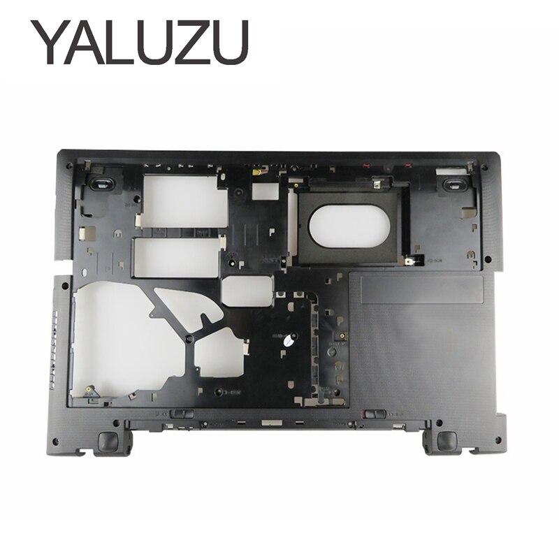 YALUZU NEW laptop Bottom Base Cover For lenovo G70 G70 70 G70 80 B70 B70 70 Z70 Z70 80 lower cover D shell black AP0U1000300