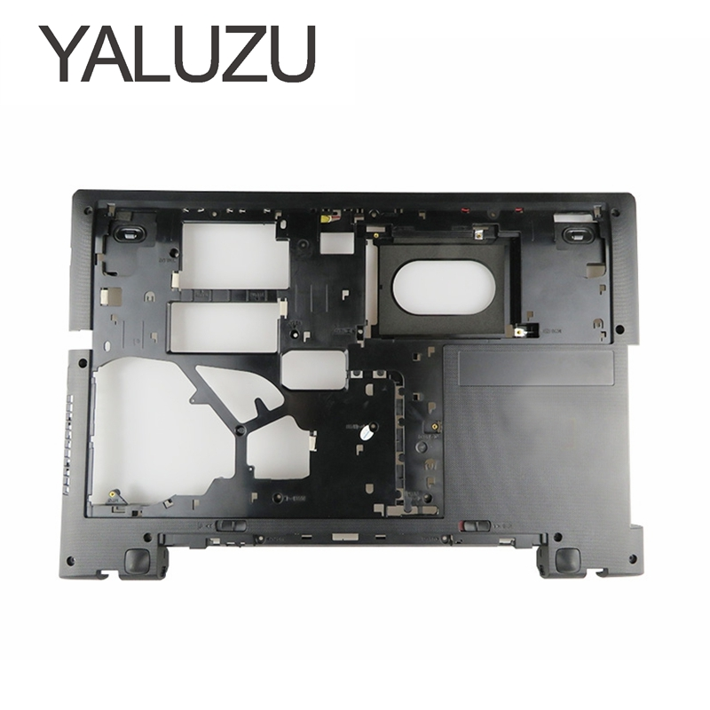 YALUZU NEW Laptop Bottom Base Cover For Lenovo G70 G70-70 G70-80 B70 B70-70 Z70 Z70-80 Lower Cover D Shell Black AP0U1000300