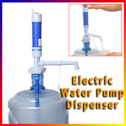 Powerful Electric Battery-Operated Pump Convenient Dispenser Bottled Drinking Water Pump 5 Gal with Press Switch