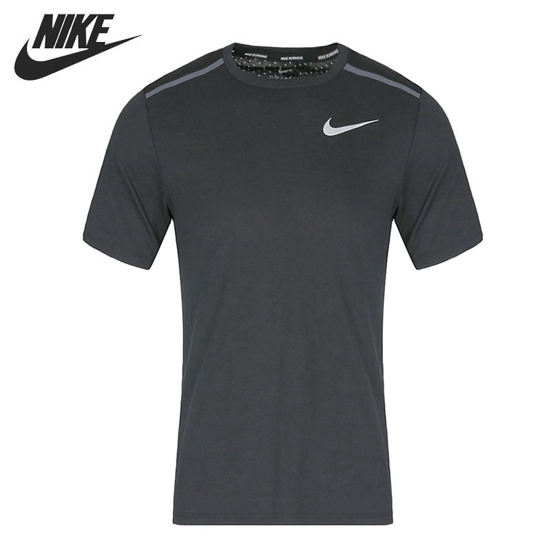Original New Arrival 2018 NIKE BRTHE RISE 365 TOP SS Men's T-shirts short sleeve Sportswear cropped wide sleeve top