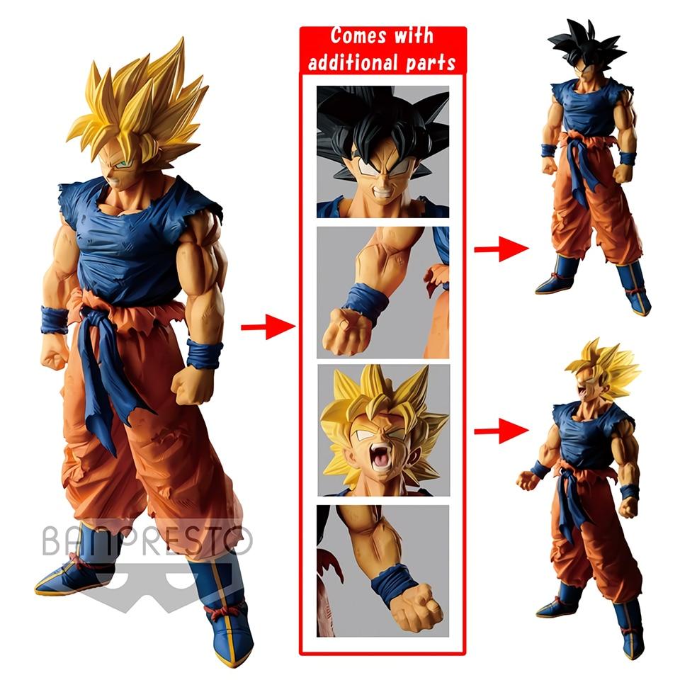 Tronzo Original Banpresto Dragon Ball Super LEGEND BATTLE OF WORLD Goku Black Hair SSJ PVC Action