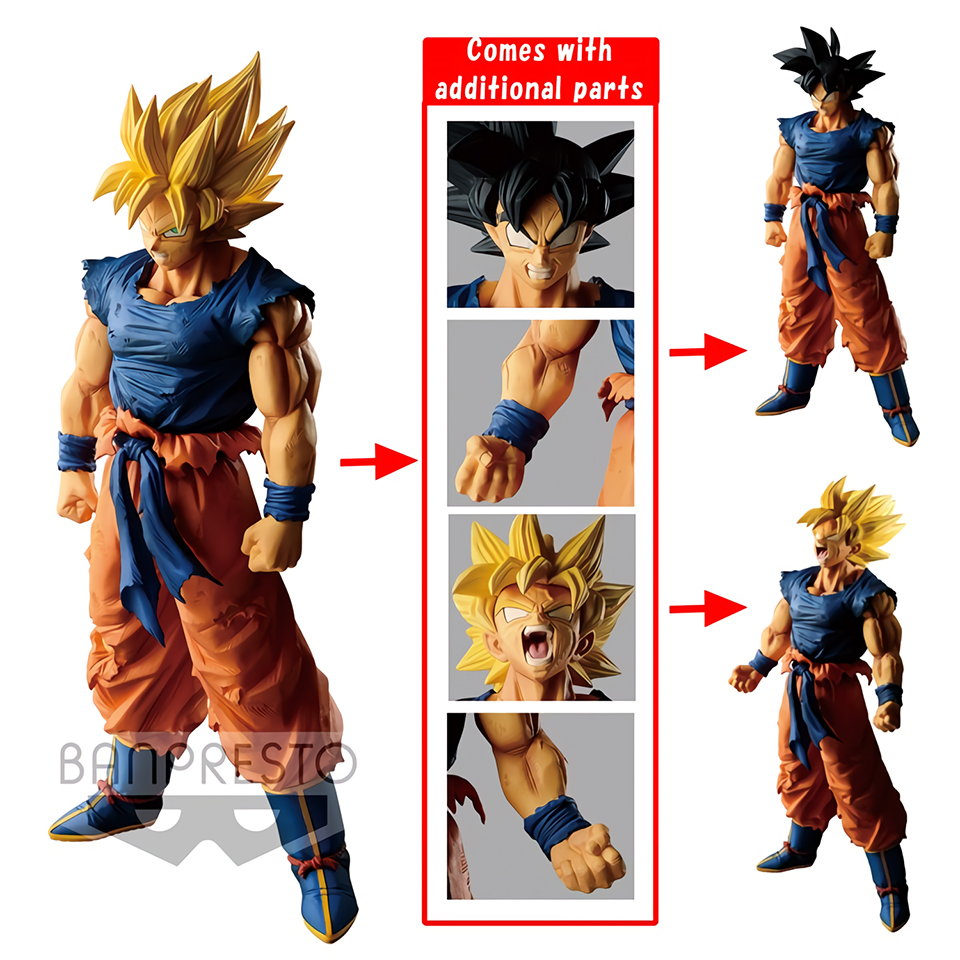 Tronzo Original Banpresto Dragon Ball Super LEGEND BATTLE OF WORLD Goku Black Hair SSJ PVC Action Figure Models DBZ Figural     Tronzo Original Banpresto Dragon Ball Super LEGEND BATTLE OF WORLD Goku Black Hair SSJ PVC Action Figure Models DBZ Figural