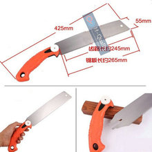 Woodworking Carpenter Tool Hand Saw Garden Pruning Saw With Silm Blade And Three Side Precision Ground Teeth-265MM Blade Saw
