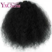 Tresses synthétiques Marley Crochet cheveux moelleux Ombre tresses souples 18 pouces tressage Extensions de cheveux