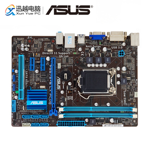 Image 1 - Asus P8B75 M LX PLUS เมนบอร์ดเดสก์ท็อป B75 LGA 1155 สำหรับ i3 i5 i7 DDR3 16G SATA3 USB3.0 DVI Micro   ATX เดิมใช้ Mainboard