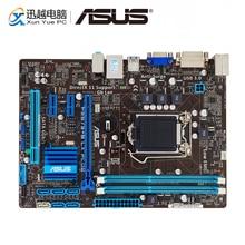 Asus P8B75 M LX PLUS Masaüstü Anakart B75 LGA 1155 i3 i5 i7 DDR3 16G SATA3 USB3.0 DVI Micro ATX Orijinal Kullanılan Anakart
