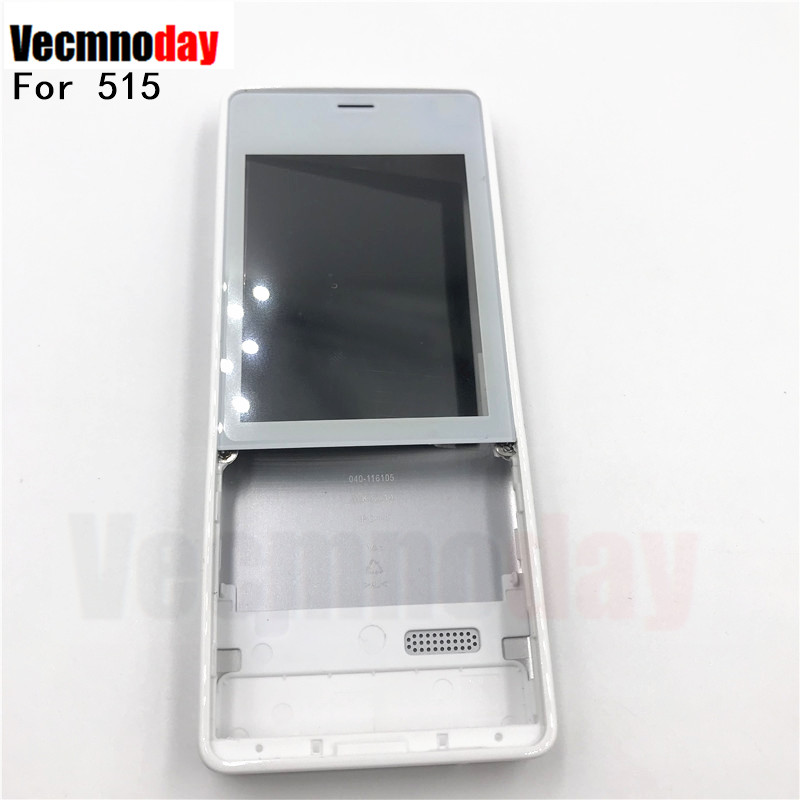 Vecmnoday Original Front Frame Battery Door Back Cover Housing Case For Nokia 515 RM-952 With Volume Button Without Keyboard