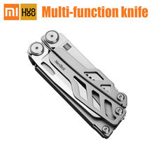 Xiaomi HuoHou Multi-Function Knife Pocket Folding Stainless Steel Bottle Opener Screwdriver Pliers For Hunting Outdoor Camping(China)
