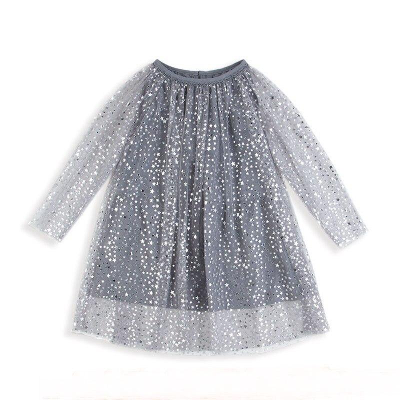 Prinzessin Kostüm Glänzende Baby Geburtstag Kleid Mit Ärmeln Mädchen Tunika Kleid Weihnachten Kinder Kleidung Robe Fille Kinder Kleider