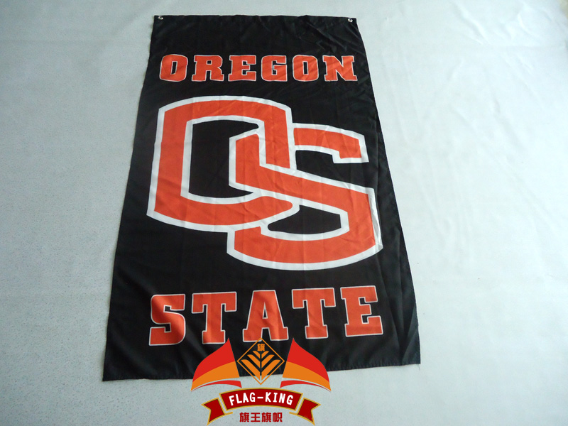 Oregon State University Beavers Flags 3ft x 5ft 100% Polyester Patio