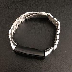 Image 4 - In metallo per Huawei Honor Fascia 4 5 Cinghia Della Fascia Dellacciaio inossidabile Del Braccialetto Accessori per Articoli Elettronica Smart Wristband