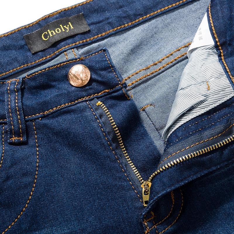 Jeans Mannen 2017 Nieuwe Mode Koreaanse Stijl Hoge Straat Slim Fit - Herenkleding - Foto 4